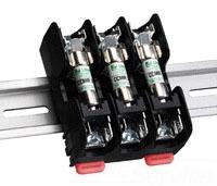 L60030M-3PQDINR LITTELFUSE MIDGET FUSE BLOCK W/PRESSURE PLATE TERMINAL - DIN MOUNT RLS