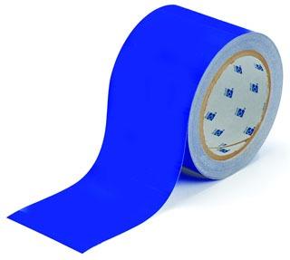 104314 BRADY 2 IN X 100 FT B514 BLUE FLOOR TAPE 75447316092
