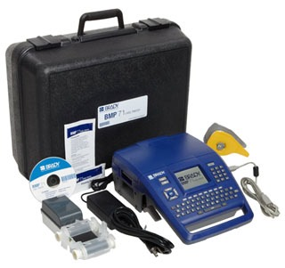 BMP71 BRADY MOBILE PRINTER INCLUDES MEDIA ADAPTER WHICH ACCOMODATES TLS2200 TAPE CARTRIDGES
