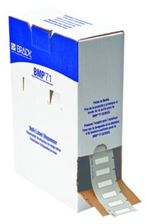 BM71-187-1-342 BRADY 1.015 IN X 0.335 IN (25.78 MM X 8.5 MM) BPSPT-187-1-WT