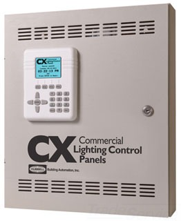 CX042S042NN HUBBELL 4 RELAY LIGHTING CONTROL PANEL 20A 1P 120/277V INPUT N/O RELAYS NEMA 1 SUR ENCL STAND ALONE