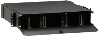 5R2UM-F06 LEV OPTX ENCLOSURE 2RU 6PLTS