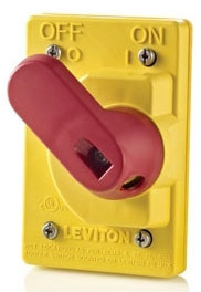 COVER-S LEVITON IP66 SWITCH COVER 07847752575