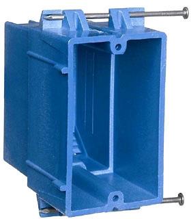 BH122A-UPC CAR-ELE 1G 22 CU IN - HVY WALL ELEC BOX
