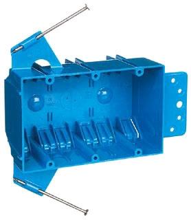 B344AB CAR 3G 44 CU IN ZIP BOX W/FLANGE