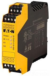 ESR5-NO-31-24VAC-DC CH SAFETY RELAY DUAL-CHANNEL 24VAC/DC
