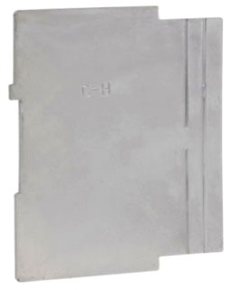 TP862 C-HINDS 4 SQ PARTIT SQ CUT TILE WALL 2 GNG CVR 2 1/8 DP 1/2 TO 1 RSD 78618910862 25/CASE