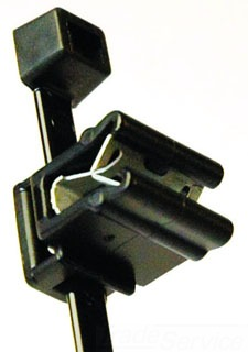 156-00635 TYTON CABLE TIE AND EDGE CLIP, 50LB., 7.9, EC4A PANEL THICKNESS .04 -.12
