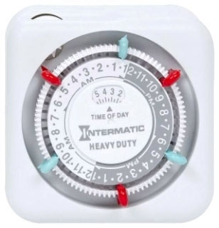 TN311 I-MATIC PLUG-IN TIMER WITH 2 ON/OFF SETTINGS. RATED FOR OUTDOOR ENCLOSURE. 07827512789