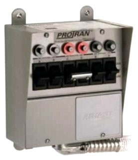 306D RELIANCE PRO/TRAN 6 CIRCUIT DIRECT WIRE TRANSFER SWITCH (31406B)