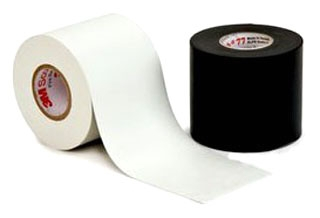 77-BLACK-3X20FT 3M FIRE RETARDANT ELECTRIC ARC PROOFING TAPE 3