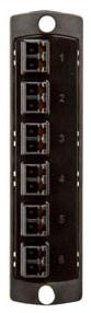 5F100-2EL LEV OPTX LC 12-FIBER 50MM DPLX /BLACK
