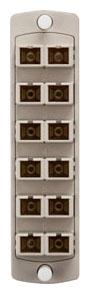 5F100-2IC LEV OPTX SC 12-FIBER 62.5MM DPLX / BEIGE