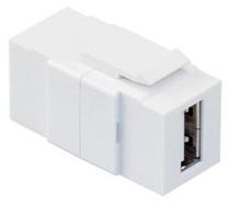 40835-W LEVITON FEEDTHRU QP USB WH 07847757025