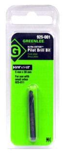 925-001 GRE HIGH SPEED CUTTER PILOT DRILL, SMALL 10186