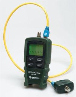 NC-100 GREENLEE TESTER, VDV NETcat (POP) 78331023636