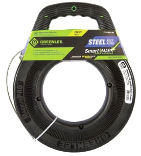FTS438DL-150 GREENLEE FISHTAPE, STEEL-150' W/LEADER 78331026299