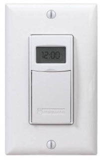 EI600WC INT IN-WALL DIGITAL 7-DAY ASTRO TIMER 20 AMP 24-277 VOLT WHITE