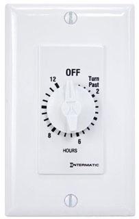 FD12HWC INT CLAMSHELL PGK 12 HOUR 125- 277V SPST WHITE