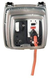 WP1230C INT 2-GANG IN-USE C0VER 3-1/8
