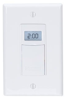 ST01 INT 7-DAY DIGITAL PROGRAMMABLE WALL SWITCH TIMER WITH ASTRO FEATURE.