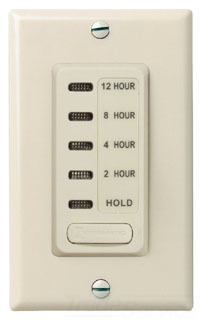 EI230LA INTERMATIC 2/4/8/12 HOUR COUNTDOWN TIMER W/HOLD LIGHT ALMOND