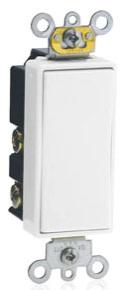 5657-2W 15A/120-277V DECORA SPDT SWITCH - MOMENTARY W/ CENTER OFF