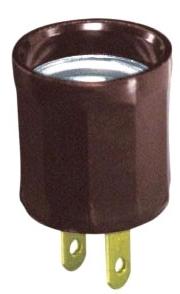 61 LEV OUTLET-TO-LAMPHOLDER ADPT