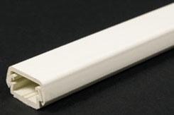 400BAC-WH WHITE BASE&CVR W/ADHES WM 5ft LENGTHS