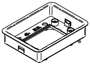 880MPA WAL RECTANGULAR PVC BOX ADJUSTING RING