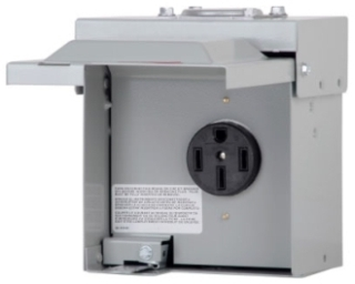 CHU1S C-H Power Outlet Panel, Nema 14-50R Receptacle 50Amp, No Breaker 78211612817