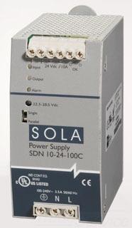 SDN-10-24-100C SOLA POWER SUPPLY 78347200195