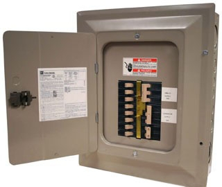 CH816GEN6060 CH Manual Transfer Switch Generator Panel