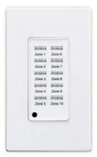 ZMDSW-10W LEVITON 10 BUTTON Z-MAX SWITCH