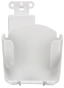 47112-W LEV MOBILE DEVICE STATION DECORA WHITE