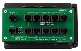 TM1045 P&S 10WAY RJ45 TELECOM MODULE W/RJ31X 80442806691