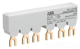PS1-2-0-65 ABB MS116/132 BUSBAR 65A 2-MMP 0-AUX