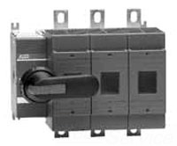 OS30FAJ12 ABB 3POLE 30A CLASS J FUSIBLE DISCONNECT SWITCH; 1POLE LEFT/2POLES RIGHT OF MECHANISM