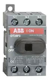 OT25F3 ABB 3P 25A UL508 NF SW RPLS OT25E3 H1