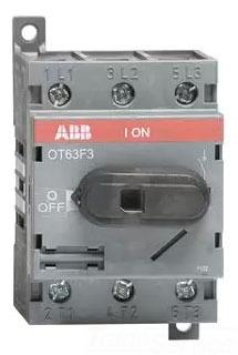 OT63F3 ABB 3P 60A UL508 NF SWITCH RPLS OT45E3