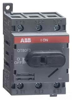 OT80F3 ABB 3P 80A/600V UL508 NF SW RPLS OT63E3
