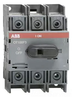 OT100F3 ABB 3P 100A UL98 NF SWITCH