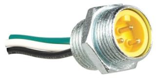 MR5E4BC100A old# 5000111-10 C-H CONN MINI 5P STRAIGHT MALE RECEPT. W/10