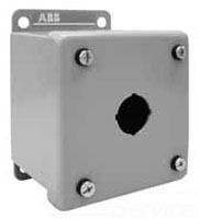 MEM121-0 ABB 12 MET PB ENCL 1 HOLE 80432537319