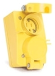 60W47DPLX WHD RCPT & COVER FOR 3065 BOX 1301460131