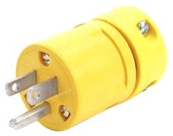 1447 WHD 15A 125V STD-DTY PLUG 1301410015