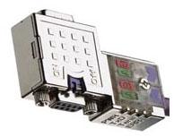 PA9D01-42 B-H DSUB 9P ATTCH VERT. CONN. W/DIANOSTICS 1201030001