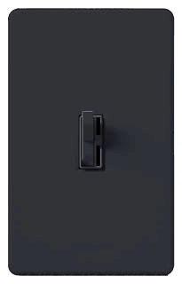AYLV603PBL LUTRON ARIADNI DIMMER 3-WAY BLACK LOW VOLTAGE