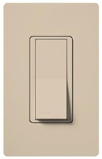 SC-3PS-TP LUTRON 3-WAY SWITCH TAUPE FINISH
