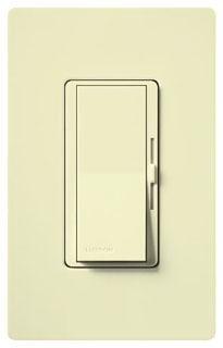 DVCL-153P-AL LUTRON DIVA 3WAY/SINGLE POLE 600W (INC/HAL) 150W (CFL/LED) ALMOND
